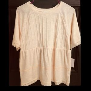 LC LAUREN CONRAD baby doll top